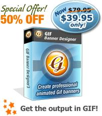 GIF Banner Designer screenshot